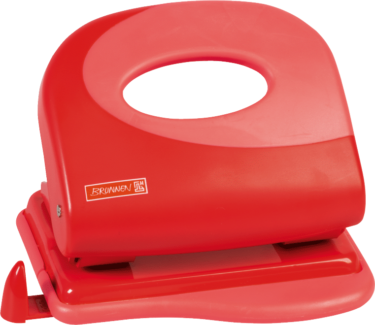 Locher Soft-Touch Colour Code red