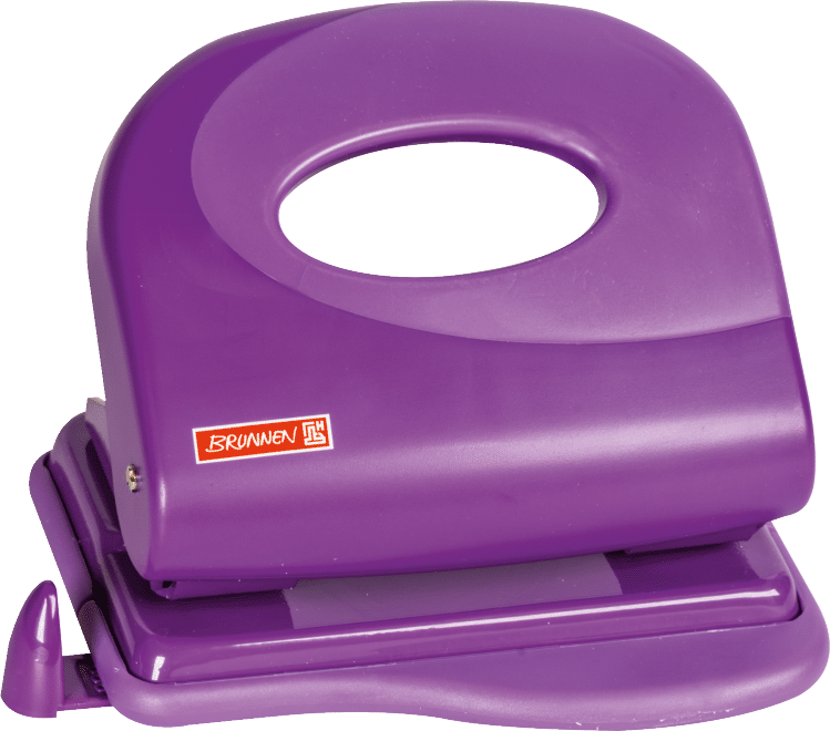 Locher Soft-Touch Colour Code purple