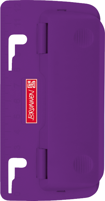 Taschenlocher Colour Code purple