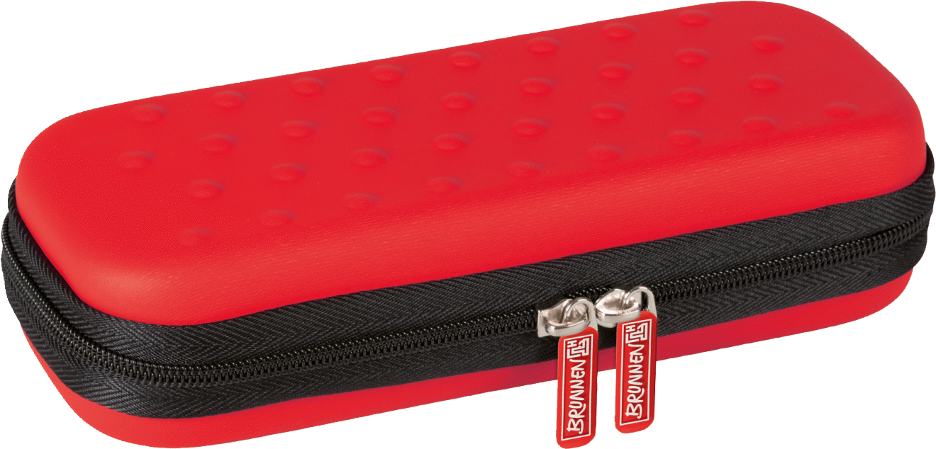 Pencilbox Colour Code 21 x 8,5 x 4,5 cm red
